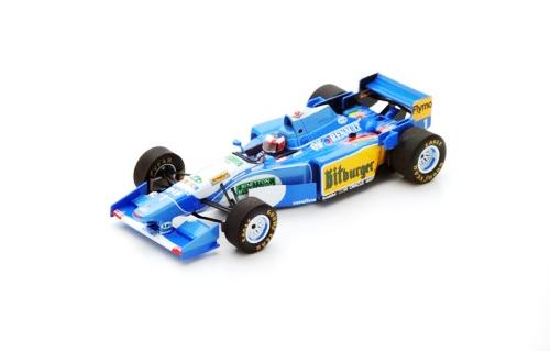 スパーク 1/43 ベネトン B195 M.シューマッハ 1995年モナコGP優勝 No.1