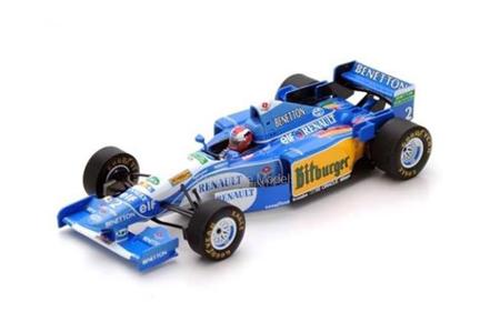 スパーク 1/43 ベネトン B195 J.ハーバート1995年イギリスGP優勝 No.2