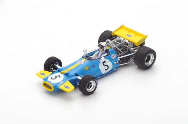 スパーク 1/43 ブラバム BT33 J.ブラバム 1970年モナコGP2位 No.5
