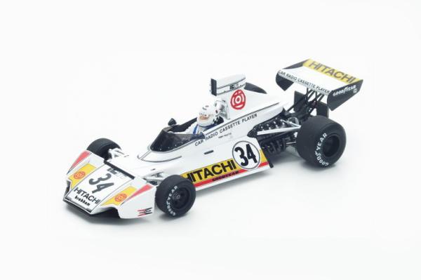 スパーク 1/43 ブラバム BT42 T.ピレット 1974年ベルギーGP No.34