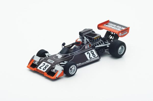 スパーク 1/43 ブラバム  BT42 No.28 J.ワトソン 1974年モナコGP6位