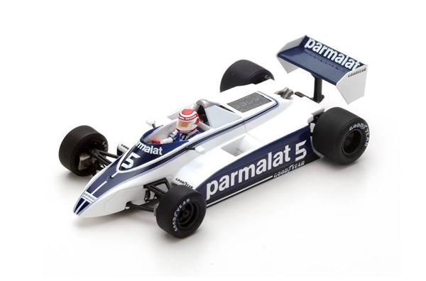 スパーク 1/43 ブラバム BT49 N.ピケ 1980年ロングビーチGP優勝 No.5