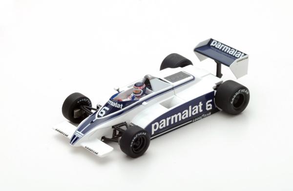 スパーク 1/43 ブラバム BT49 R.ズニーノ 1980年アルゼンチンGP7位 No.6