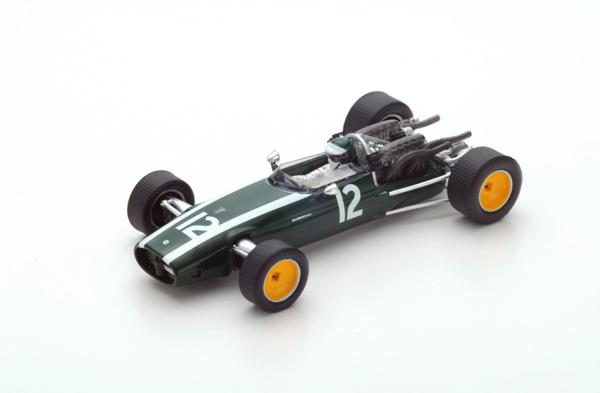 スパーク 1/43 クーパー T81B  J.リント 1967年オランダGP No.12