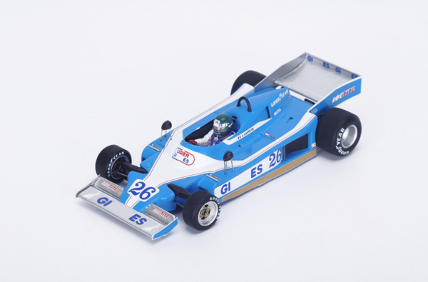 スパーク 1/43 リジェJS9 J.ラフィー 1978年モナコGP No.26