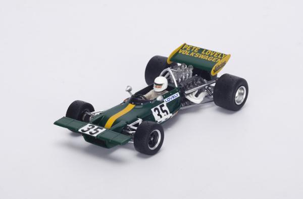 スパーク 1/43 ロータス 69 1971年カナダGP Pete Lovely No.35