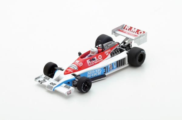 スパーク 1/43 マルティニ Mk23 R.アルヌー 1978年オランダGP No.31