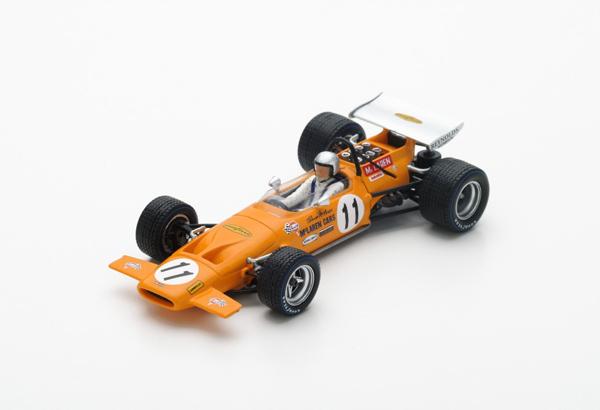 スパーク 1/43 マクラーレン M14A  B.マクラーレン 1970年スペインGP2位 No.11