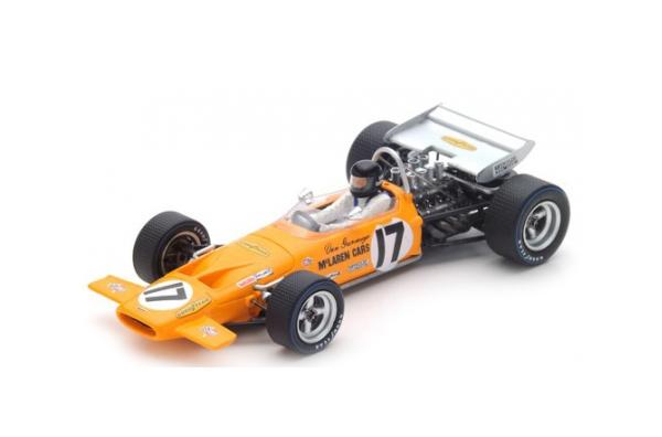 スパーク 1/43 マクラーレン M14A D.ガーニー 1970年フランスGP6位 No.17