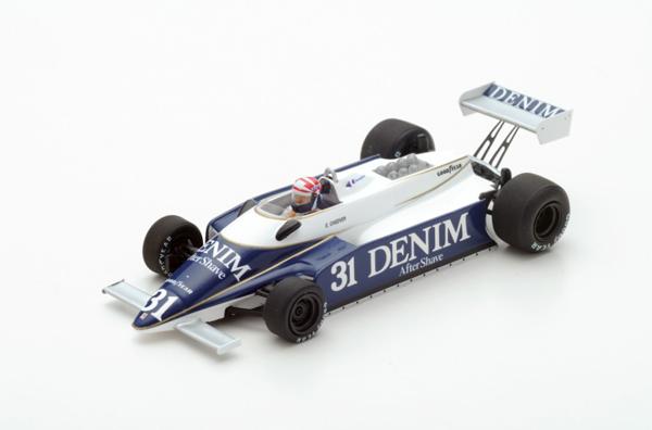 スパーク 1/43 オゼッラ FA1 E.チーバー 1980年フランスGP No.31