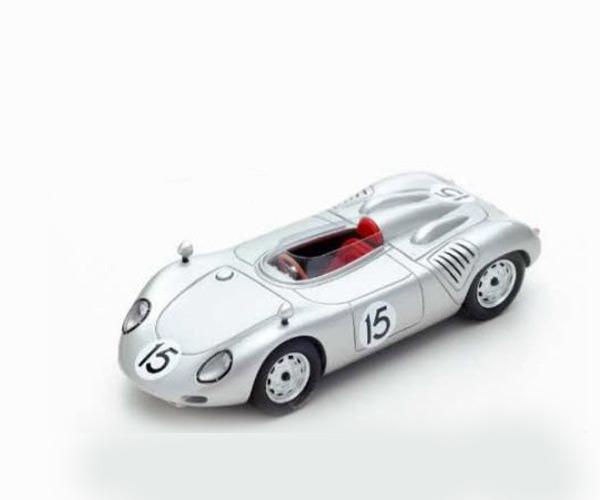 スパーク 1/43 ポルシェ 718 RSK C. Godin de Beaufort 1959年オランダGP No.15