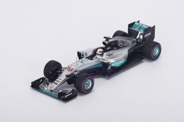 スパーク 1/43 メルセデス F1 W07 L.ハミルトン 2016年モナコGP
