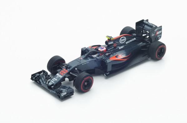 スパーク 1/43 マクラーレン ホンダ J.バトン ハロテスト 2016年イタリアGP