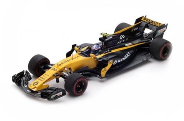 スパーク 1/43 ルノーF1 R.S.17 J.パーマー 2017年バーレーンGP No.30
