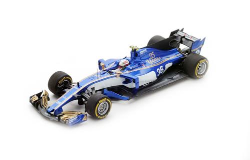 スパーク 1/43 ザウバー C36 A.ジョヴィナッツィ 2017年オーストラリアGP No.36