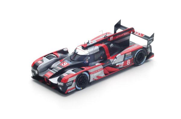 【再入荷】スパーク 1/43 アウディ R18 LMP1 HY 2016年ルマン24時間レース3位 No.8