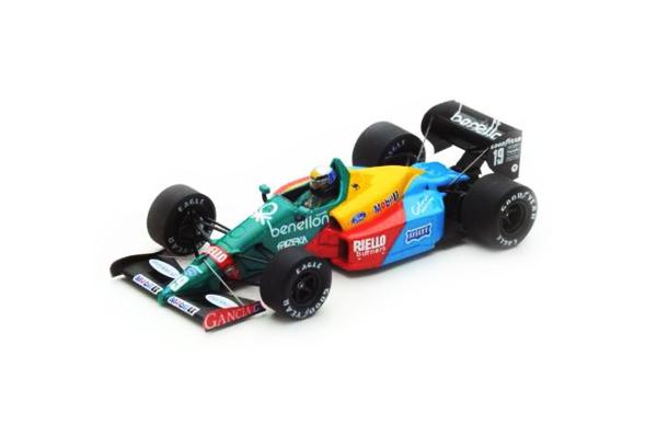 スパーク 1/43 ベネトン B188 A.ナニーニ 1988年イギリスGP3位 No.19