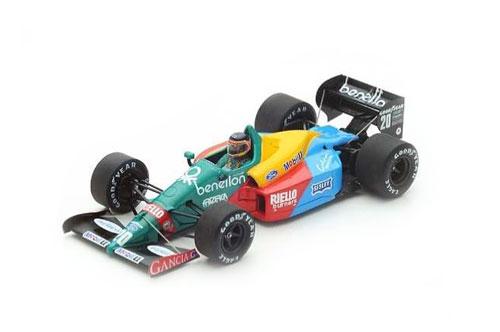 スパーク 1/43 ベネトン B188 T.ブーツェン 1988年カナダGP3位 No.20