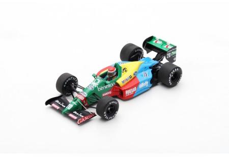 スパーク 1/43 ベネトン B188 E.ピロ 1989年フランスGP No.20