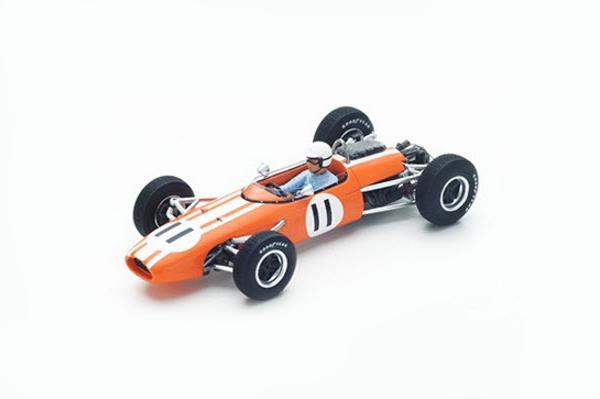 スパーク 1/43 ブラバム BT11 F.ガードナー 1965年モナコGP No.11