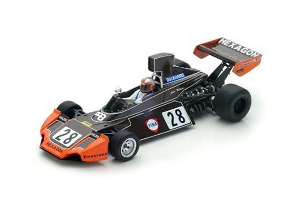 【ミニカーフェア対象】スパーク 1/43 ブラバム BT44 J.ワトソン 1974年イタリアGP No.28