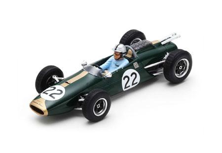 スパーク 1/43 ブラバム BT3 J.ブラバム 1963年イタリアGP No.22