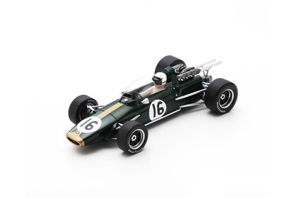 スパーク 1/43 ブラバム BT24 J.ブラバム 1967年イタリアGPプラクティス No.16