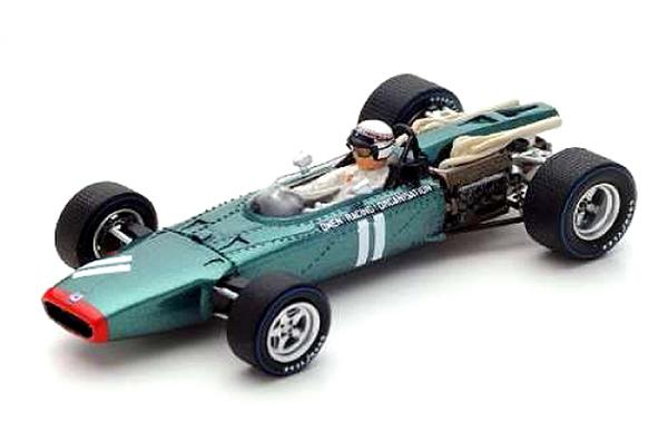 スパーク 1/43 BRM P115 J.スチュワート 1967年ドイツGP No.11