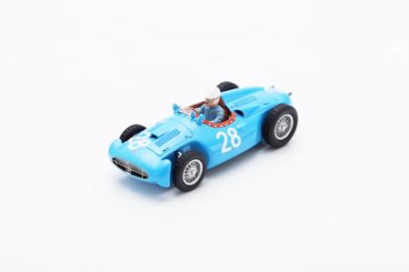 スパーク 1/43 ブガッティ T251 モーリス・トランティニアン No.28 1956年フランスGP