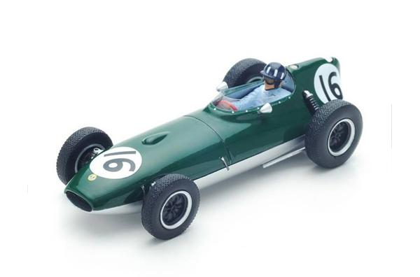 スパーク 1/43 ロータス16 G.ヒル 1958年イギリスGP No.16