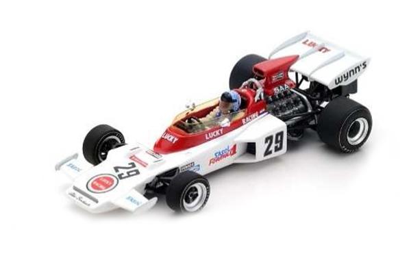 スパーク 1/43 ロータス 72D D.チャールトン 1972年イギリスGP No.29