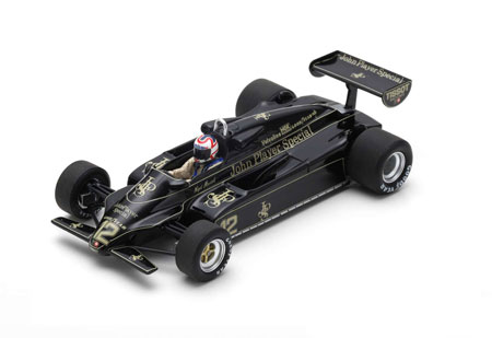 スパーク 1/43 ロータス 91 N.マンセル 1982年ブラジルGP3位 No.12