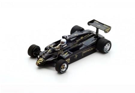スパーク 1/43  Lotus 91 G.リース 1982年フランスGP No.12