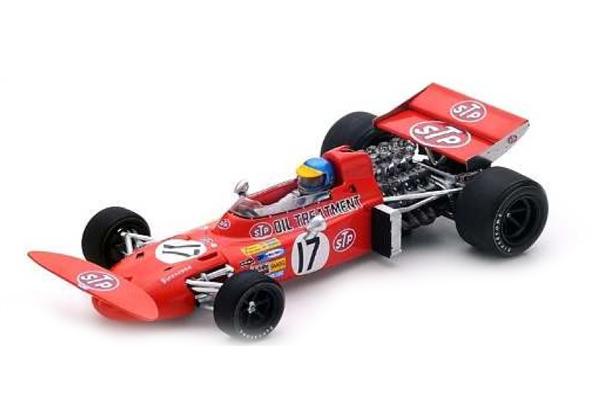 スパーク 1/43 マーチ 711 R.ピーターソン 1971年モナコGP2位 No.17