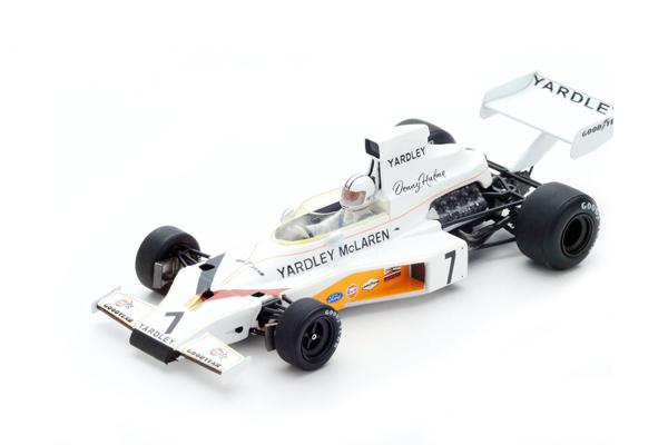 スパーク 1/43 マクラーレン M23 D.ハルム 1973年スェーデンGP優勝 No.7