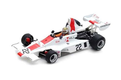 スパーク 1/43 ヒル GH1 A.ジョーンズ1975年イギリスGP No.22