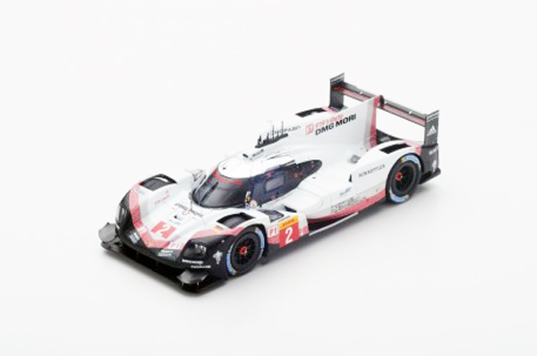 スパーク 1/43 S5845 ポルシェ 919 Hybrid  Porsche LMP Team WEC Champion No.2 T.Bernhard-E.Bamber-B.Hartley
