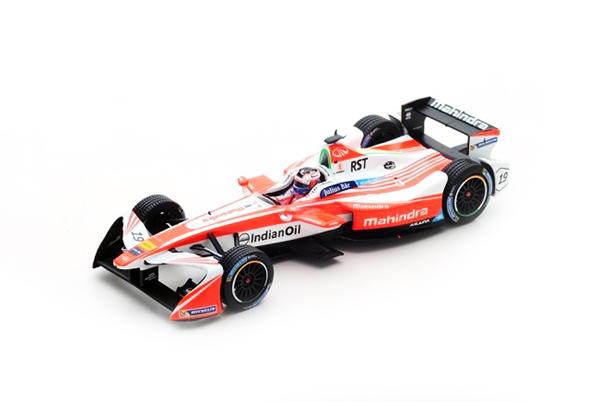 スパーク 1/43 マヒンドラレーシング フォーミュラEチーム F.ローゼンクビスト No.19 ベルリンGP優勝 - フォーミュラEシーズン