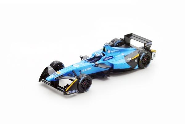 スパーク 1/43 ルノー eダムス N.プロスト No.9 香港GP - フォーミュラEシーズン 3 (2016-2017)
