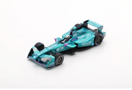 スパーク 1/43 MS&AD アンドレッティ 小林可夢偉 フォーミュラーE シーズン4 (2017-2018) 香港ePrix