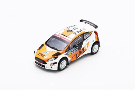 スパーク 1/43  フォード フィエスタ R5 2018年ラリー スウェーデン WRC2 優勝 勝田貴元/M.サルミネン No.35