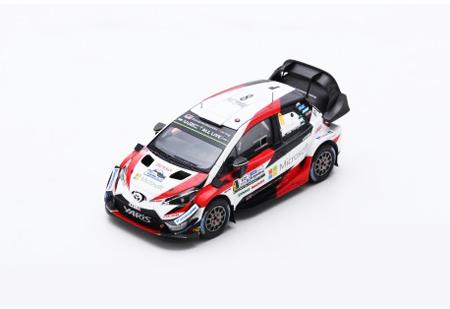 スパーク 1/43 TOYOTA(トヨタ) ヤリス WRC O.タナック GAZOORACING WRT 2018年ラリーアルゼンチン優勝 No.8