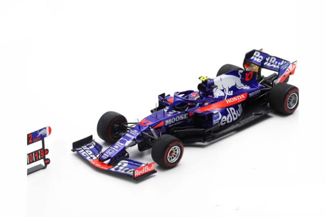スパーク 1/43 トロロッソ・ホンダ STR14 P.ガスリー 2019年ブラジルGP2位 No.10