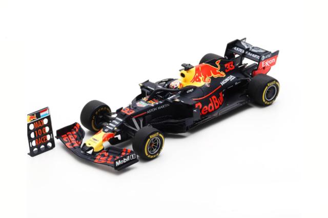 スパーク 1/43 レッドブル・ホンダ RB15 M.フェルスタッペン 2019年アメリカGP3位 FormulaOne100thGPWithPitBoard