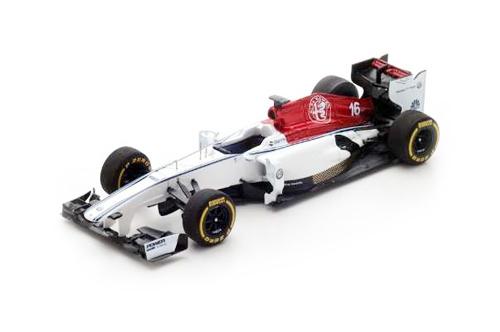 スパーク 1/43 アルファロメオ ザウバー F1 2018プレゼンテーションカー
