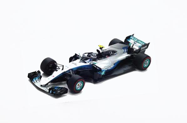 スパーク 1/43 S6053 メルセデス W09 V.ボッタス 2018年中国GP No.77
