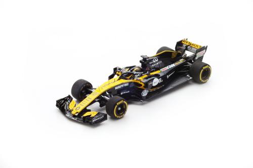 スパーク 1/43  ルノー F1 R.S.18 N.ヒュルケンベルグ 2018年中国GP No.27