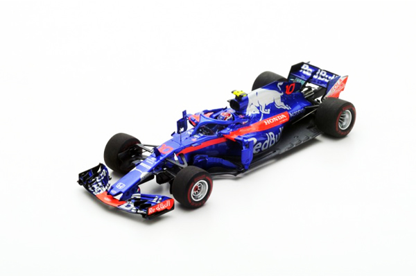 スパーク 1/43 レッドブルトロロッソホンダSTR13 P.ガスリー 2018年バーレーンGP4位 No.10