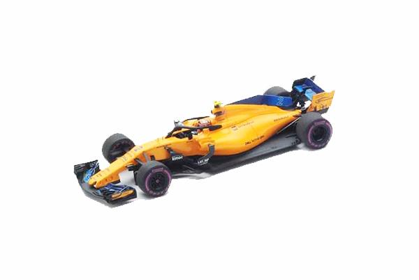 スパーク 1/43 マクラーレン MCL33 S.バンドーン 2018年オーストラリアGP No.2