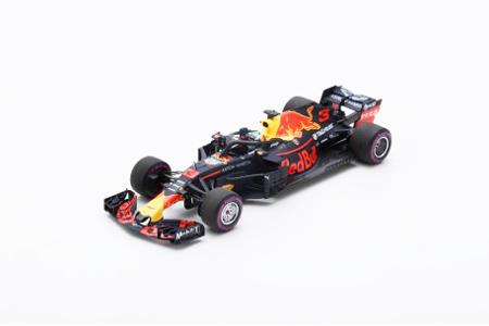 スパーク 1/43 レッドブルRB14 D.リカルド2018年モナコGP優勝 No.3